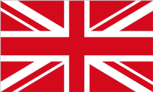 Great Britain Red Large Country Flag - 5' x 3'.